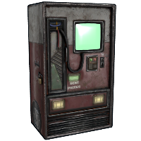 Retro Vending Machine Rust Skin