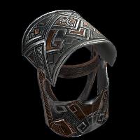 Dwarf Helmet Rust Skin