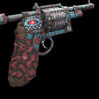 Necromancer Revolver Rust Skin