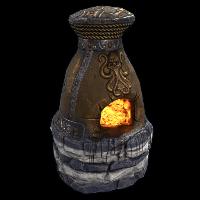 Treasure Furnace Rust Skin