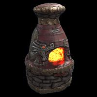 Dragon Furnace Rust Skin