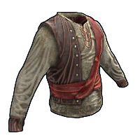 Rust Pirate Shirt Skins