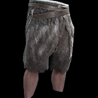 Tribesman Hide Pants Rust Skin
