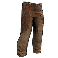 Leopard Skin Pants Rust Skin