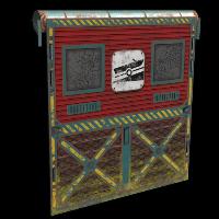 Rust Sailor's Garage Door Skins