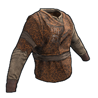 Rust Leopard Skin Shirt Skins