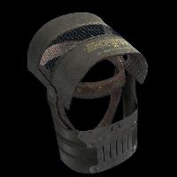 Full Metal Helmet Rust Skin