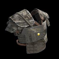 Full Metal Vest Rust Skin