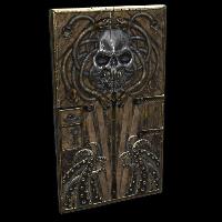 Steel Pirate Door Rust Skin