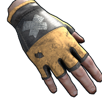 Rust Junkyard King Gloves Skins