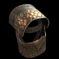 Snap Turtle Helmet Rust Skin