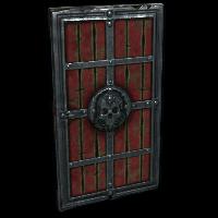 Cursed Wooden Door