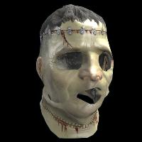 Frankenstein Mask Rust Skin