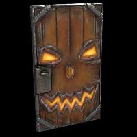 Halloween Door Rust Skin