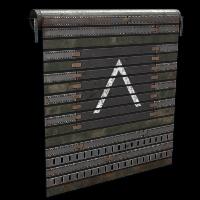 Defense Garage Door Rust Skin