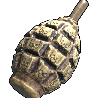 Unholy Grenade Rust Skin