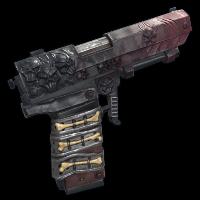 Demonic Pistol Rust Skin