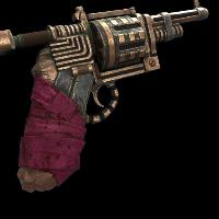 Dynamo Revolver Rust Skin