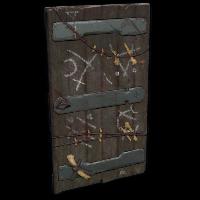 Sacrificial door