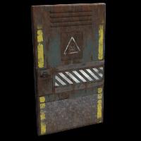 Dead Room Door Rust Skin