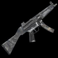 Rust Arctic Wolf MP5 Skins