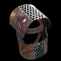 Defender Helmet Rust Skin
