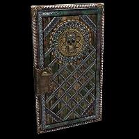 Lost Treasure Door Rust Skin