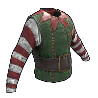 Santa's Helper Shirt Rust Skin