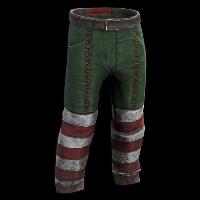 Santa's Helper Pants Rust Skin