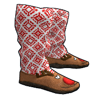Rust Rudolph Slippers Skins