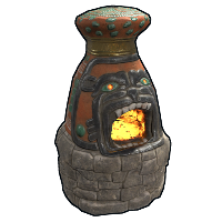 Aztec Furnace Rust Skin