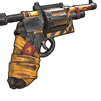 Devourer Revolver Rust Skin