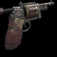 Tribal Revolver Rust Skin