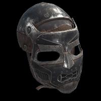 Bruiser Facemask Rust Skin