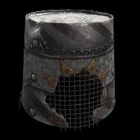 Punk Bucket Rust Skin
