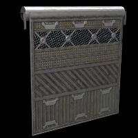 Checkpoint Door Rust Skin
