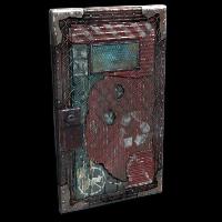 Lost Metal Door Rust Skin