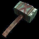 Aztec Jade Hammer