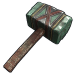 Aztec Jade Hammer icon