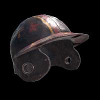 Yellow Racer Helmet Rust Skin