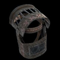 Nordic Beast Helmet Rust Skin