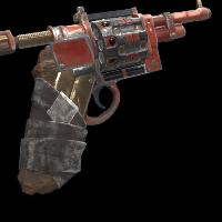 Firefighter Revolver Rust Skin