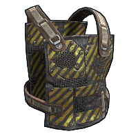 Engineer's Chest Plate Rust Skin