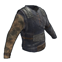 Rust Desert Outlaw Burlap Shirt Skins