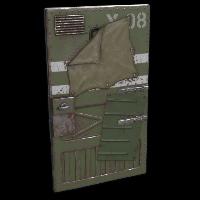 Military Vehicle Door Rust Skin