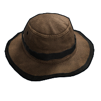Leather Boonie Hat Rust Skin