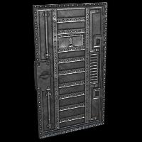 Armored Vault Door Rust Skin