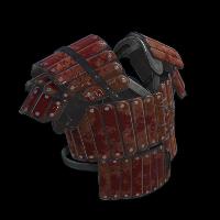 Junkyard Samurai Vest Rust Skin