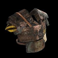 Wasteland Legionnaire Rust Skin