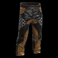 Yellow Racer Pants Rust Skin